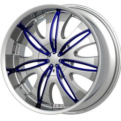G2 G2-353 18x7.5 Chrome with Paintable Inserts