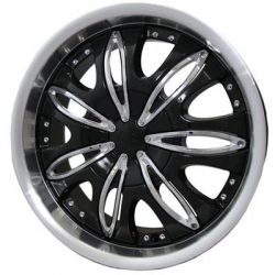 G2 G2-353 20x8.5 Gloss Black with Machine Lip and Paintable Inserts