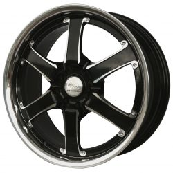 G2 G2-38 18x7.5 Hyper Black with Machine Face