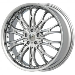 G2 G2-88 22x10 Gloss Black with Machine Face