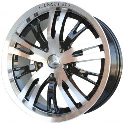 G2 G2-965 20x7.5 Gloss Black with Machine Face