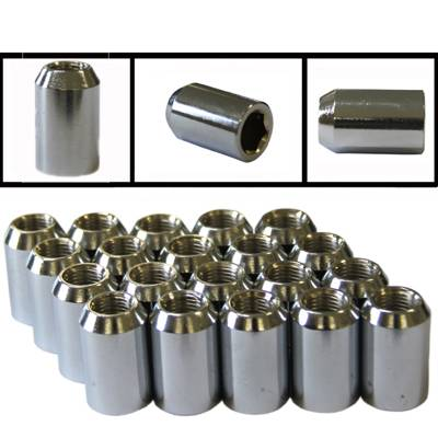 Hex Drive Chrome (Tuner Nuts)