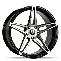 V8 V-39 19x9.5 Gloss Black with Machine Face