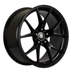 V8 V-16 19x8.5 Gloss Black