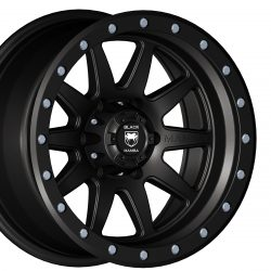 Black Mamba M-12 17x9 Matt Black