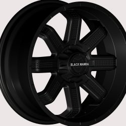 Black Mamba M-27 20x9 Matt Black