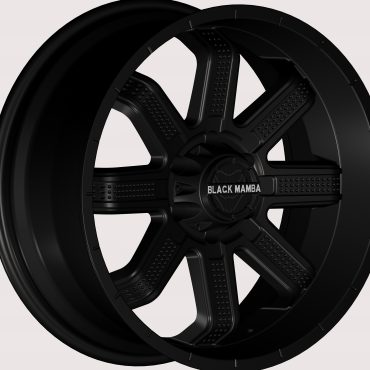 Black Mamba M-27 20x9 Matt Black