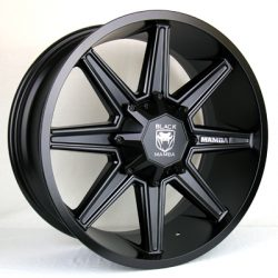 Black Mamba M-9 20x9 Matt Black