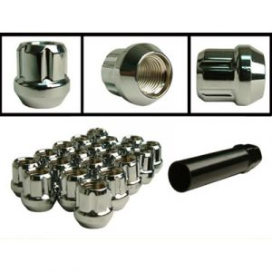 Open End Nut (Tapered Nut) (Chrome)
