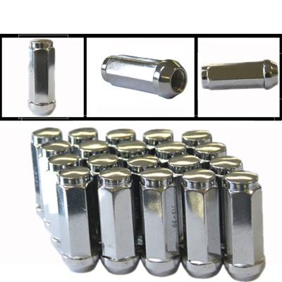 Tapered Nuts (Chrome) Extra Long
