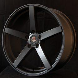 V8 V-19 20x8.5 Matt Black