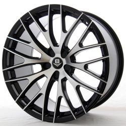 V8 V-22 20x8.5 Gloss Black with Machine Face