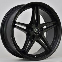 V8 V-40 18x8.5 Gloss Black with Machine Face
