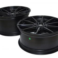 V8 V-15 20x8.5 Matt Black