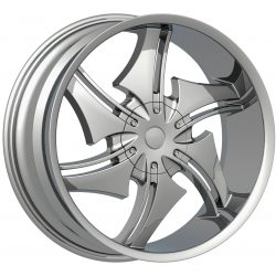 Velocity VW-001 18x7.5 Chrome
