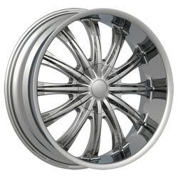 Velocity VW-002 26x10 Chrome