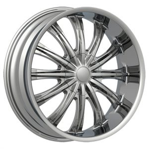 Velocity VW-002 26x10 Chrome