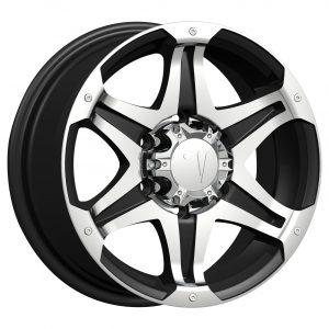 Velocity VW-441 18x7.5 Gloss Black with Machine Face