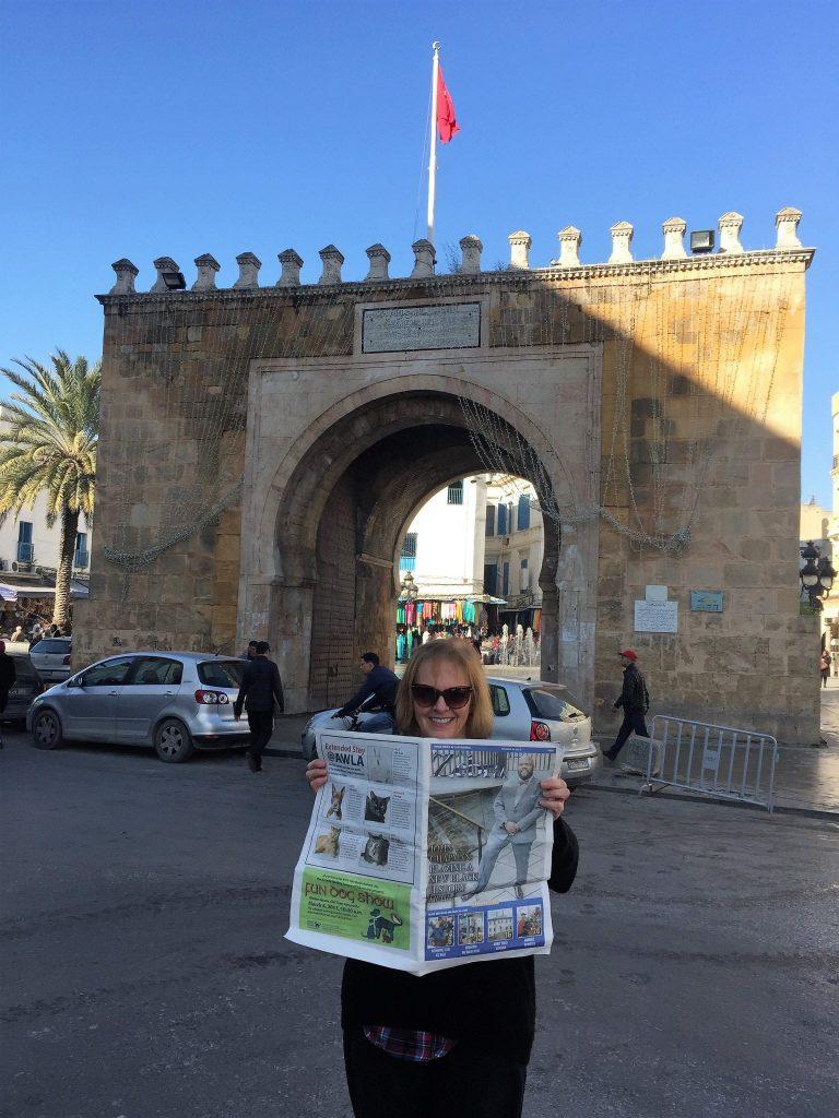 ZEBRA Spotted in Tunisia!