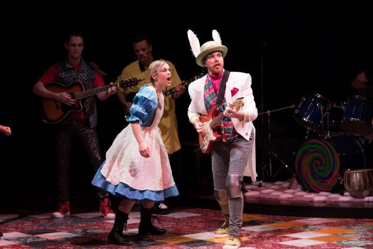 """""""Wonderland:  Alice's Rock & Roll Adventure"""" Rules at Imagination Stage"""