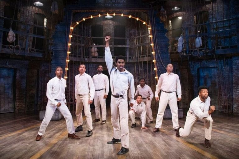 """""""The Scottsboro Boys"""" is Electrifying at Signature Theatre"""