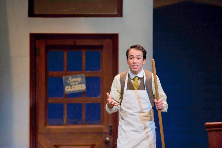 Cosmo Clemens, Brabo Restaurant Server Extraordinaire, Opera Singer and Teacher