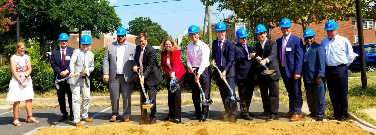 Ground Breaks in Alexandria for New Carpenter's Shelter and Bloom Affordable Apartments