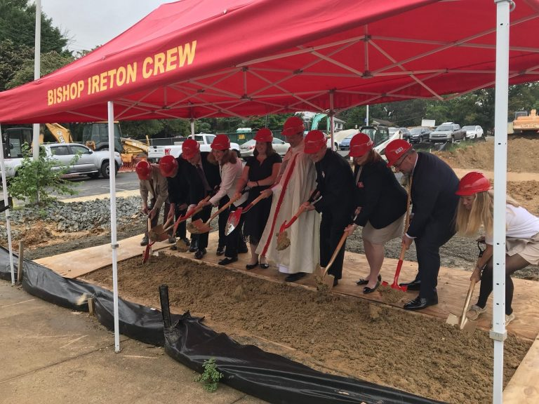 Bishop Ireton Begins Construction on a New Modern Academic Wing
