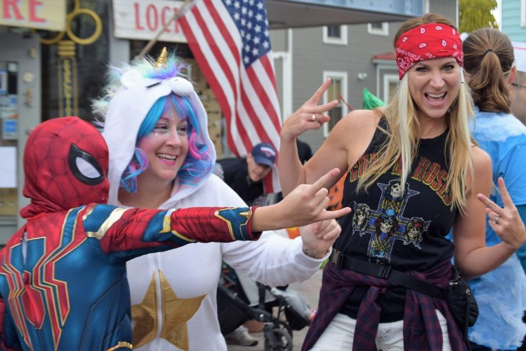 Alexandria Halloween Parade Draws Over 7500, Mostly All in Costume