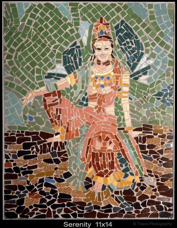 Nina Tisara's Mosaics on Exhibit; Public Invited to Opening Reception, Nov 2