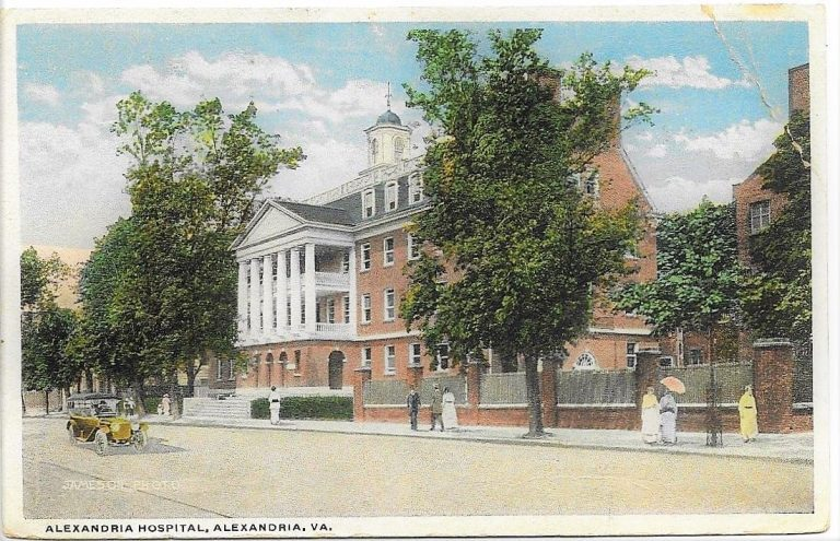 Postcards from the Past: Alexandria Hospital, 1918