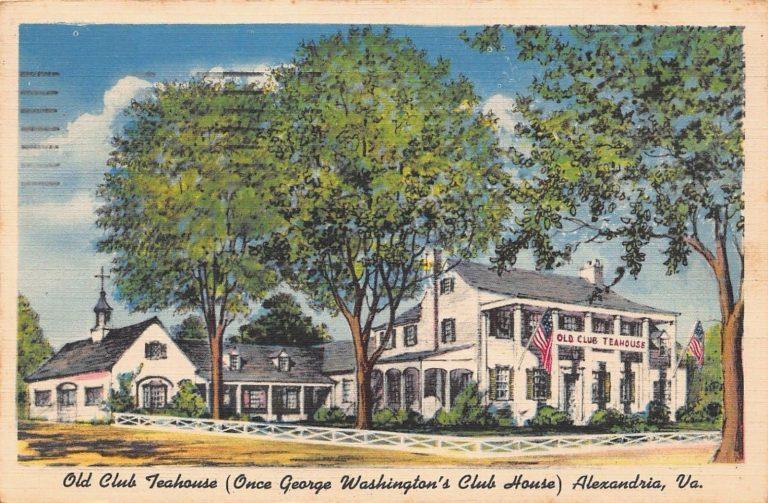 Postcards from the Past: The Old Club Teahouse on Washington Street is Now Condos