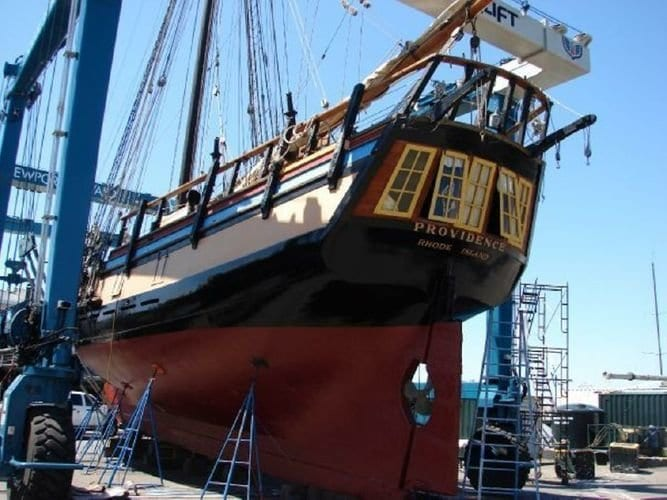 Ahoy! Alexandria City Council Approves Tall Ship Providence Docking at Waterfront for 1 Year