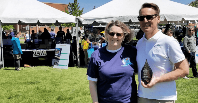 Four Mile Run Conservatory Foundation  President and Co-Founder Kurt Moser Wins  Ellen Pickering Environmental Excellence Award
