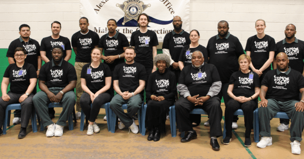 Alexandria Sheriff's Office and Virginia Theological Seminary Partner for Inside-Out Prison Exchange Program