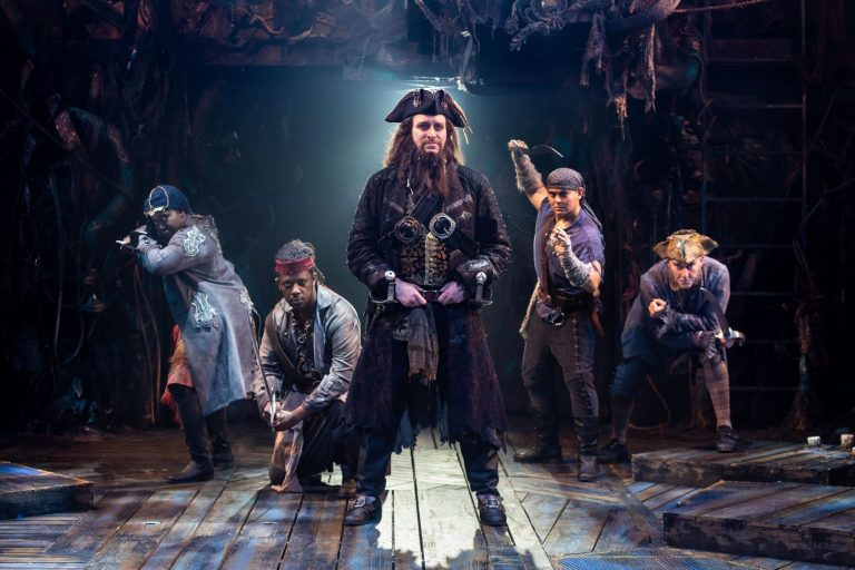 """""""Blackbeard"""" at Signature Theatre is Delightfully Tuneful and Fun, but Touching as Well"""