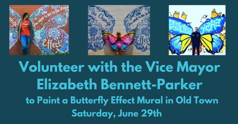 Paint a Butterfly Effect Mural