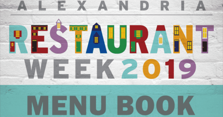 Want to See Menus for Alexandria's Summer Restaurant Week (August 16 – 25, 2019)?