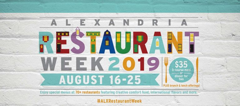 Alexandria Restaurant Week: August 16-25