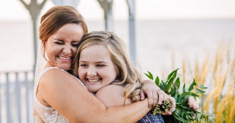 Alexandria Bride Shares Wedding Day with Girl Whose Life She Saved