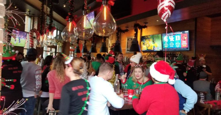 It Was the Biggest EVER Del Ray Candy Cane Bar Crawl!