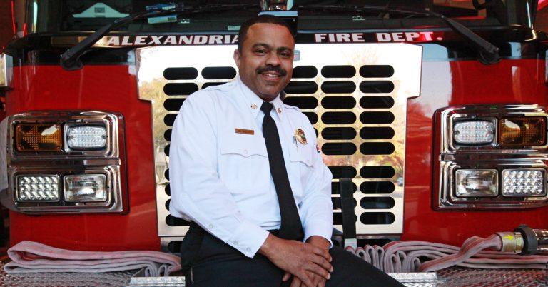 Faith, Family, Fire: Corey Smedley Named Alexandria Fire Chief