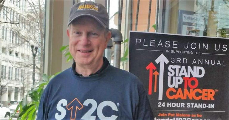 Alexandria Man to Stand Up for 24 Hours Straight in Cancer Fundraising Act