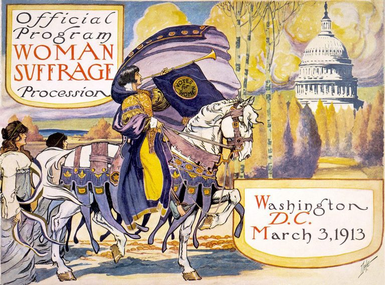 African American Women and the 1913 Women's Suffrage Parade