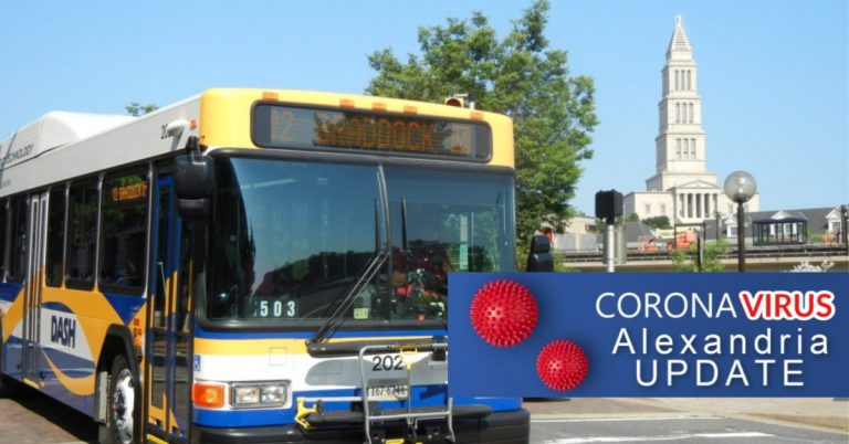 Free Rides on Alexandria's DASH Buses Until Further Notice