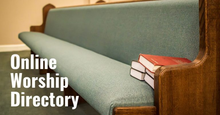 Directory: Online Streaming Worship Services in Alexandria