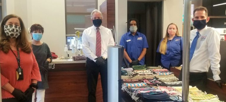 Jason & Loren Yates of Yates Dry Cleaning Donate $12,000 Worth of Face Masks to Community Service Organizations
