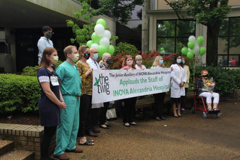 The Twig, Junior Auxiliary of Inova Alexandria Hospital Donates $100,000 to the InovaCOVID-19Emergency Preparedness Fund