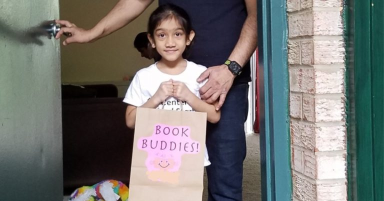 Kids Really Happy to See Their Book Buddies Reading Tutors in Alexandria