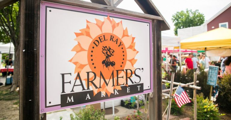 Del Ray Farmers' Market Expands Footprint To Accommodate Social Distancing